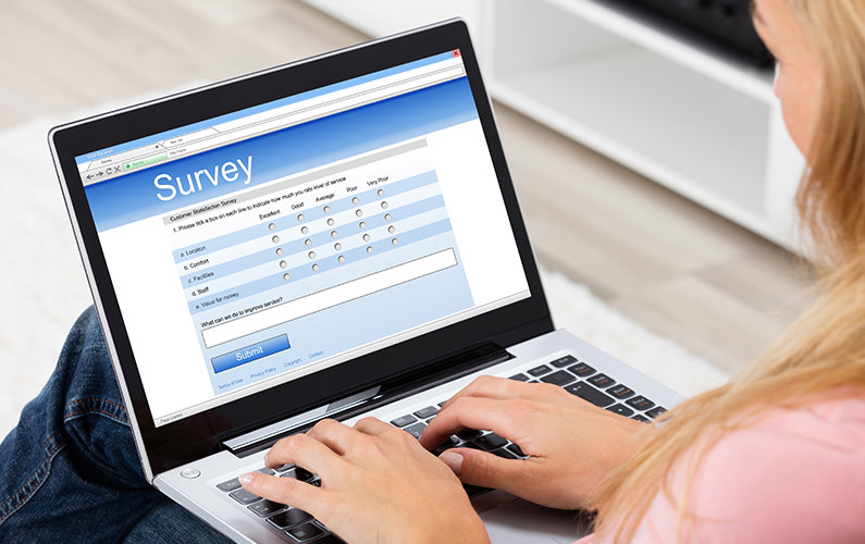 women taking infusion therapy survey